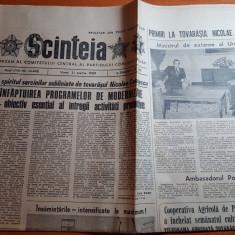ziarul scanteia 31 martie 1989