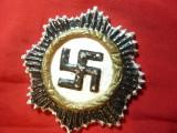 Insigna militara germana cu Zvastica - Copie cinematografica , h= 6,5 cm