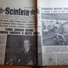 ziarul scanteia 27 octombrie 1989-cuvantarea lui ceausescu