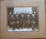 Foto pe carton ; Cercul Militar al Subofiterilor ; Garnizoana Focsani , 1937