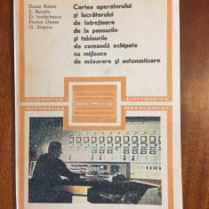 Cartea operatorului si lucratorului de intretinere la panourile si tablourile