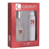 Set cadou Caldion, Femei: Apa de Toaleta, 100 ml + Deodorant spray, 150 ml