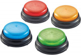 Sonerii cu lumini si sunete pentru raspuns - set 4 buc, Learning Resources