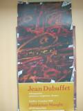 JEAN DUBUFFET - AFIS EXPOZITIE RETROSPECTIVA - 1985