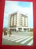 Ilustrata Buzau - Hotel Pietroasa , anii '70, Necirculata, Printata
