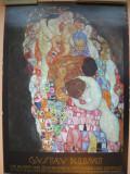 GUSTAV KLIMT - AFIS  EXPOZITIE - RUPERTINUM, SALZBURG - 1990
