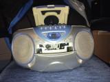 Casetofon Roadstar portabil CD/FM/Tape