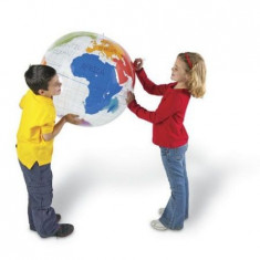 Sa invatam - Glob pamantesc gonflabil