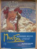 ALPHONSE MUCHA - AFIS EXPOZITIE - RUPERTINUM, SALZBURG - 2001-2002