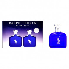 Set de Parfum Barbati Polo Blue Ralph Lauren (2 pcs) 40 ml S0549156