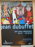 JEAN DUBUFFET - AFIS  EXPOZITIE - RUPERTINUM, SALZBURG - 2003