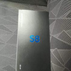 Samsung Galaxy S8 nou, Negru, Neblocat, Smartphone