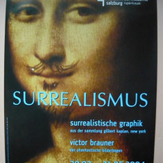 AFIS - EXPOZITIE VICTOR BRAUNER - RUPERTINUM, SALZBURG - 2004