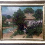 Tablou Pastoriata Keszegi Horvath Laszlo, Peisaje, Ulei, Impresionism