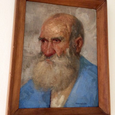 Tablou portret Tornai Gyula, Portrete, Ulei, Impresionism