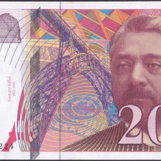 Bancnota Franta 200 Franci 1997 - P159b UNC