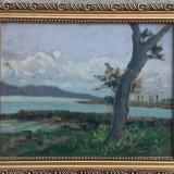 Tablou peisaj din Ardeal Tibor Erno, Peisaje, Ulei, Impresionism