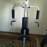 Aparat multifunctional fitness, greutati incluse