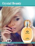 Parfum femei - Crystal Beauty - 50 ml - Gold Touch 515 - NOU, Sigilat