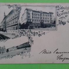 Timisoara Temeswar  Colaj, Circulata, Printata