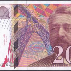 Bancnota Franta 200 Franci 1999 - P159c UNC