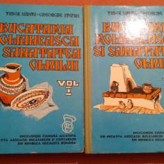 Bucataria Romaneasca Si Sanatatea Omului. 2 Volume - Tudor Manta, Ghe.  Stefan, Alta editura, 1975
