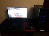 PC GARAGE Gaming Shocktrooper v3 + Monitor ASUS 24 inch 1 ms - GARANTIE 2 ANI!!, AMD Ryzen