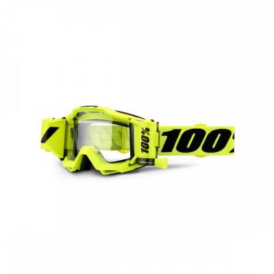 Ochelari ATV/cross 100% Accuri Forecast, sticla clara Cod Produs: MX_NEW 26012545PE foto