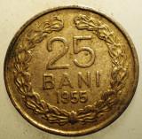 1.146 ROMANIA RPR 25 BANI 1955, Cupru-Nichel