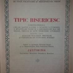 TIPIC BISERICESC - TIPARIT CU BINECUVANTAREA PATRIARHULUI JUSTINIAN {1976}