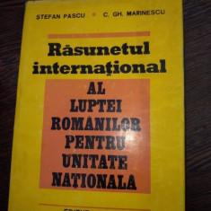 RASUNETUL INTERNATIONAL AL LUPTEI ROMANILOR PENTRU UNITATE NATIONALA-ST.PASCU-