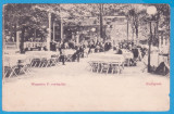 CARTE POSTALA UNGARIA - BUDAPESTA - TERASA - 1905, Circulata, Fotografie