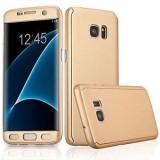 Husa FullBody Elegance Luxury Gold pentru Samsung Galaxy J5 2016 acoperire 360...