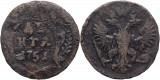 1751 (Ekaterinburg), denga, Elisabeta a Rusiei, Europa
