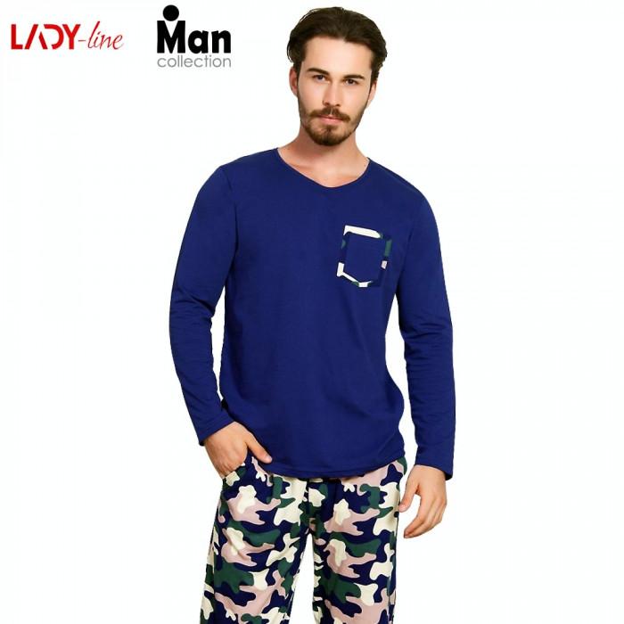Pijama Barbati Vienetta, Model Camouflage, Cod 2042