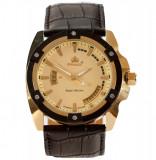 Ceas de Lux Promado Herakles - Royal Collection , yellow-gold-blk, mec. japonez, Elegant, Quartz, Inox