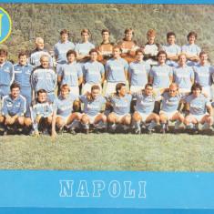 (5) FOTOGRAFIE FOTBAL - NAPOLI 1987, FORMAT 20X15 CM, CU MARADONA
