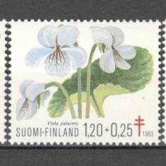 Finlanda.1983 Campanie impotriva tuberculozei-Flori  KF.343