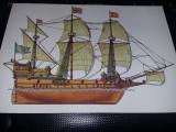 carte postala veche Moscova 1989,Nava/Vapor/Corabie/Velier,Tp.GRATUIT
