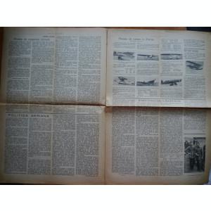 Ziarul Cerul nostru ; Foaie de propaganda aviatica , ARPA , an 1 , nr. 1 , 1936