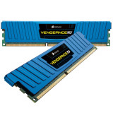 GARANTIE! Memorie GAMING Corsair VENGEANCE BLUE LP 8GB (2x4GB) 1600MHz DDR3, DDR 3, 8 GB, Dual channel
