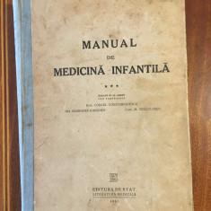 Constantinescu - Manual de Medicina Infantila. Boli infectioase vol. III (1951)