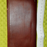 Portofel piele barbatesc maro