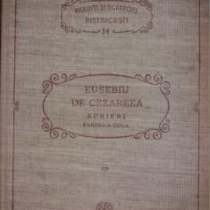 PARINTI SI SCRIITORI BISERICESTI 14 -EUSEBIU DE CEZAREEA -SCRIERI II -PSB {1991}