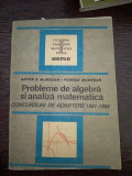 PROBLEME DE ALGEBRA SI ANALIZA MATEMATICA - ADMITERE FACULTATE - MURESAN