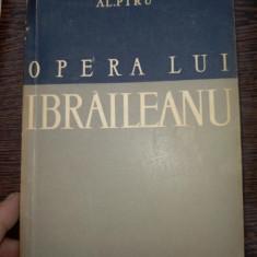 Al. Piru - OPERA LUI IBRAILEANU