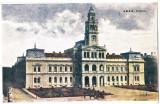 Arad Primaria carte postala circulata  1925, Printata