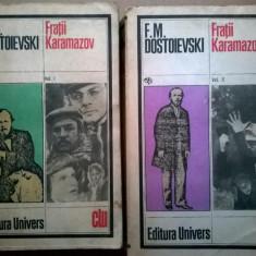 F. M. Dostoievski - Fratii Karamazov {2 volume} {u}