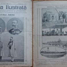 Ziarul Gazeta ilustrata , an 1 , nr. 38 , 1912 ; Patru Regi , Carol I