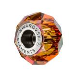 Accesoriu bratara, Charm Swarovski Briolette Astral + CADOU Laveta profesionala pentru curatat bijuteriile din argint + Cutie Cadou